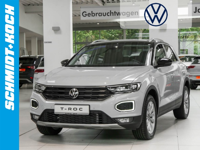 Volkswagen T-Roc 1.5 TSI ACT OPF SYTLE DSG, LED, Navi ACC, Jahr 2021, Benzin