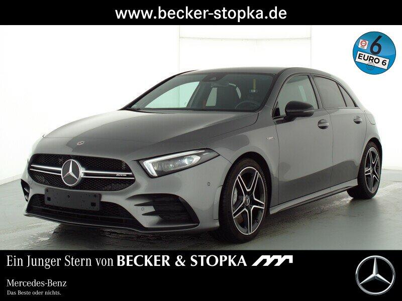 Mercedes-Benz AMG A 35 4M +Burmester+Kamer+Multibeam+Spurassis, Jahr 2019, Benzin