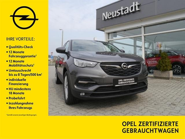Opel Grandland X Edition 1,2 5-türig Parkpilot vorn u, Jahr 2018, petrol