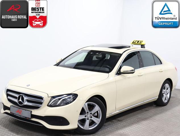 Mercedes-Benz E 220 d 9G AVANTGARDE TAXI GLASDACH,SCHECKHEFT, Jahr 2016, Diesel
