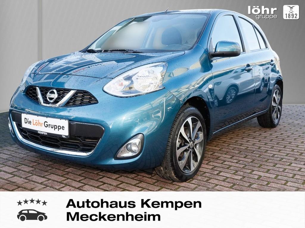 Nissan Nissan Micra 1.2 Acenta Automatik Klima FSE Radio, Jahr 2015, Benzin