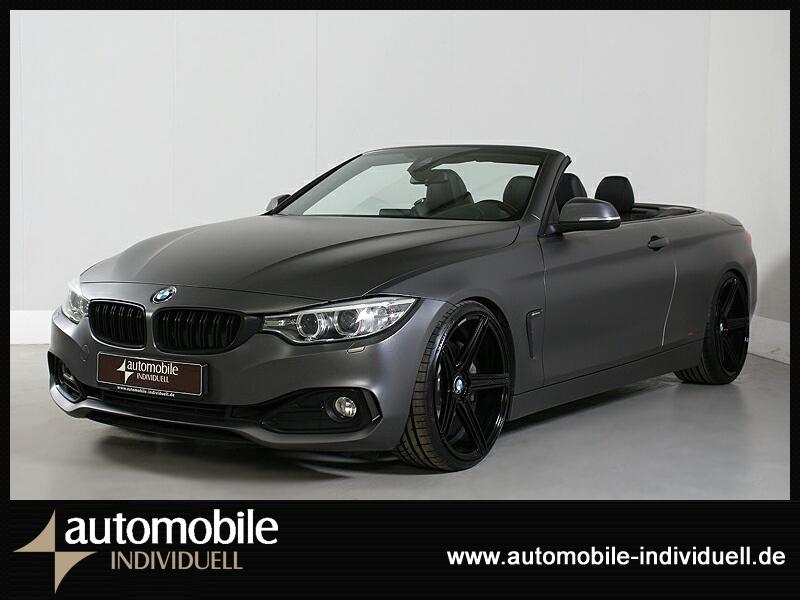 BMW 435i Cabrio Xen HuD Carbon Navi 340PS Kit!!, Jahr 2014, Benzin