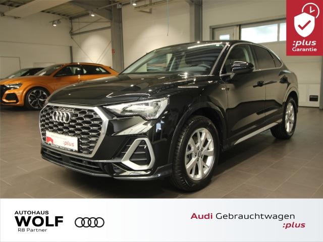 Audi Q3 Sportback 35 S line S tronic ACC AHK, Jahr 2020, Benzin