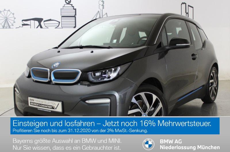 BMW i3 120Ah HK HiFi LED RFK Navi Prof. RTTI Shz, Jahr 2019, Elektro