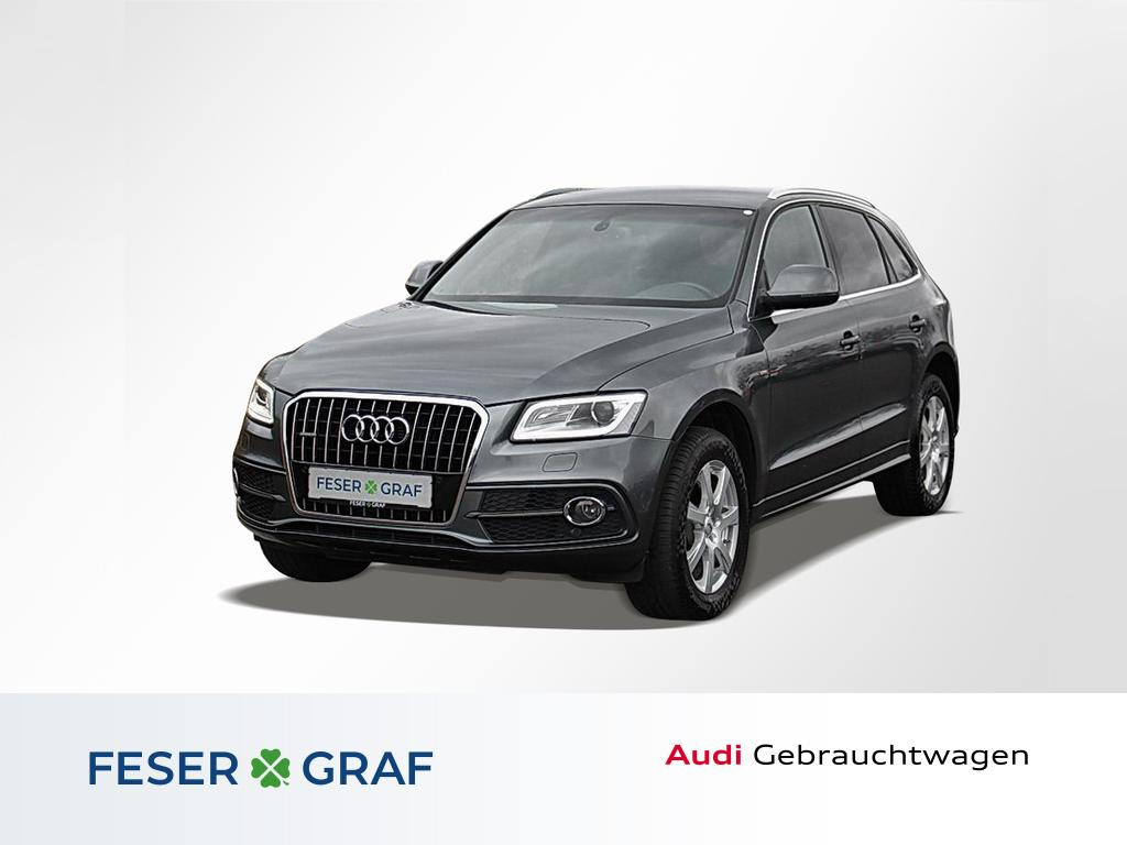 Audi Q5 2.0TDI quattro S tronic 2x S line/Xenon/Navi, Jahr 2013, Diesel