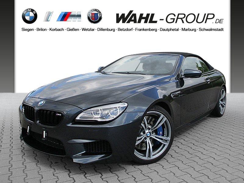 BMW M6 Cabrio Head-Up B&O HiFi LED WLAN RFK Shz PDC, Jahr 2016, Benzin