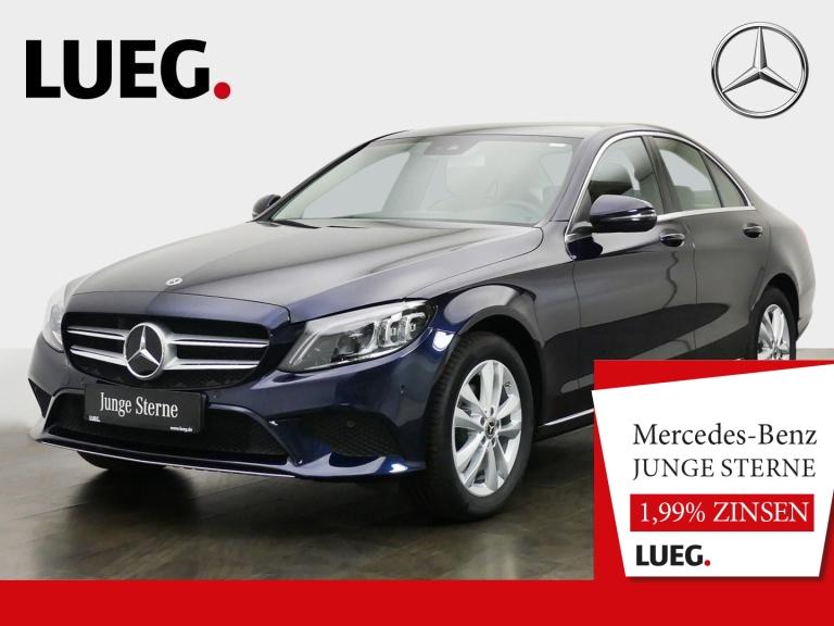 Mercedes-Benz C 180 Avantgarde+Navi+Mbeam+CarPl+ParkAss+Kamera, Jahr 2019, Benzin