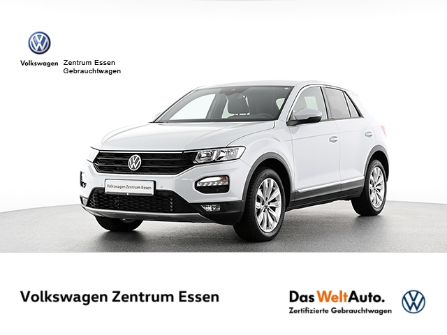 Volkswagen T-Roc Sport 1 5 TSI DSG AHK Navi RK SHZ, Jahr 2021, Benzin