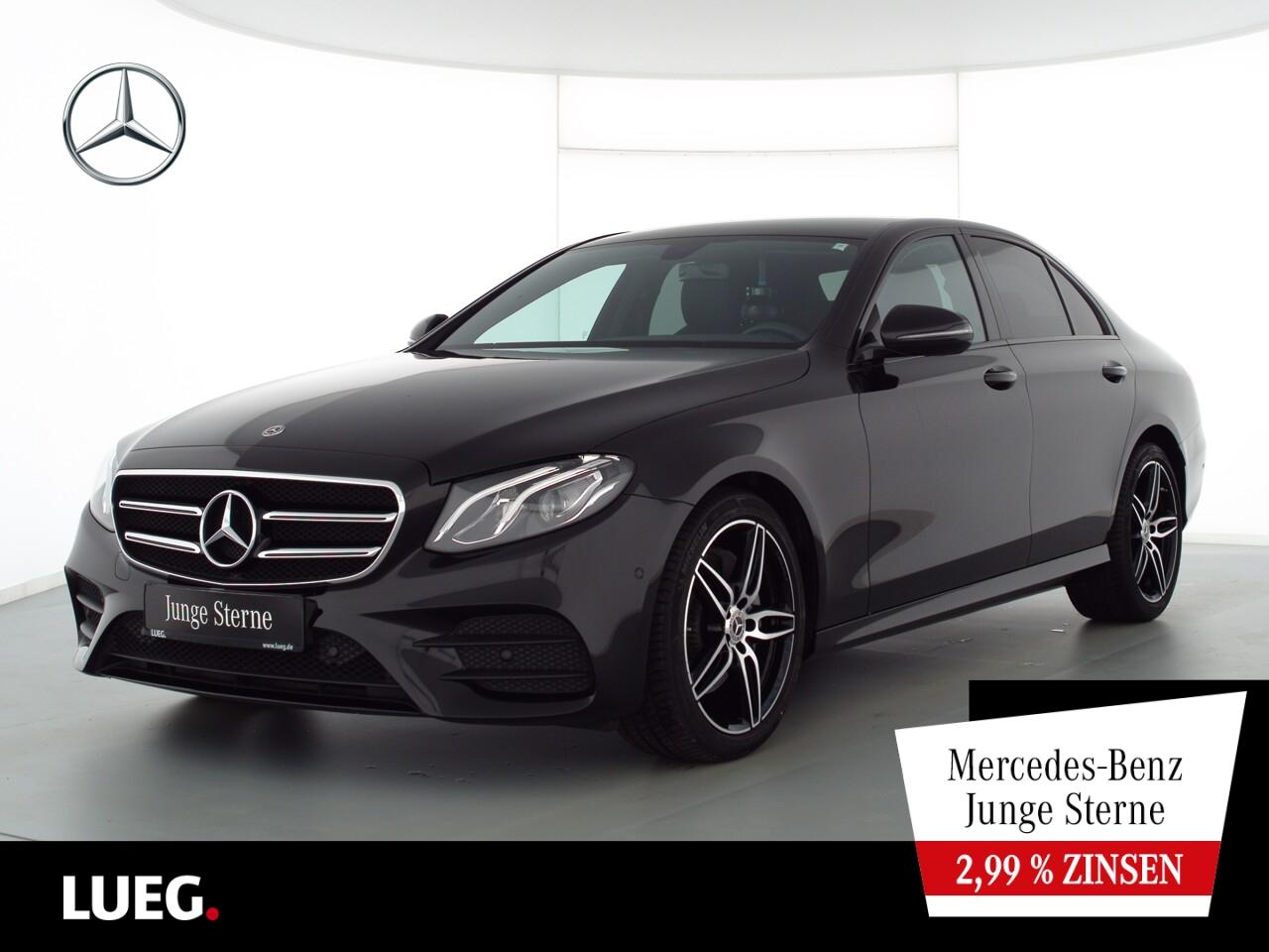 Mercedes-Benz E 200 d AMG+Navi+LED-HP+19''+Night+Totw+ParkA+RF, Jahr 2020, Diesel