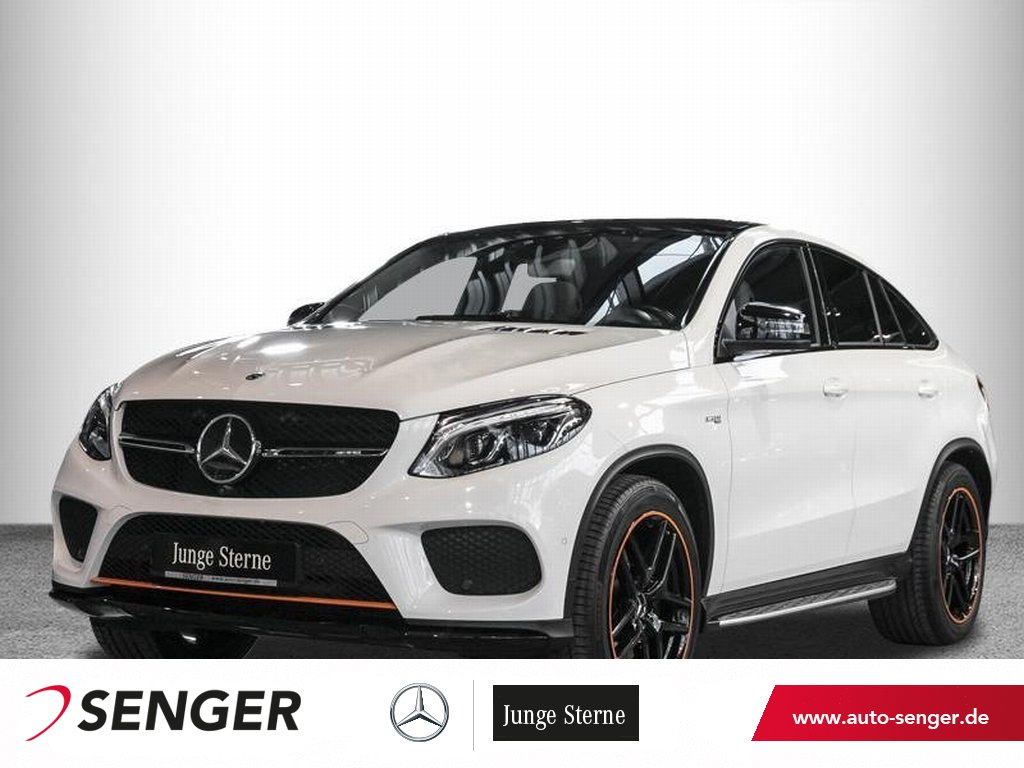 Mercedes-Benz GLE 43 AMG 4M *Pano*AHK*Airmatic*OrangeArt*360°*, Jahr 2017, Benzin