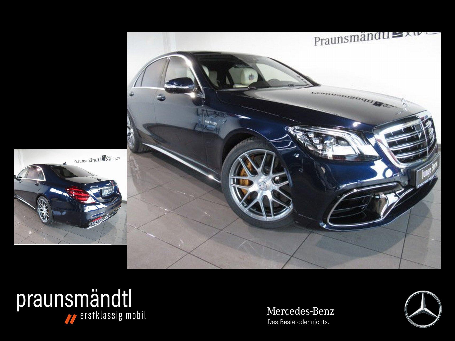 Mercedes-Benz S 63 AMG 4M lang Excl/Keramik/First-Class/NP206`, Jahr 2018, Benzin