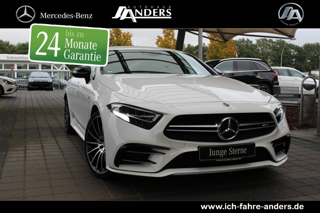 Mercedes-Benz CLS 53 4M+ LED+SHZ+Apple CarPlay+Night-P., Jahr 2018, petrol