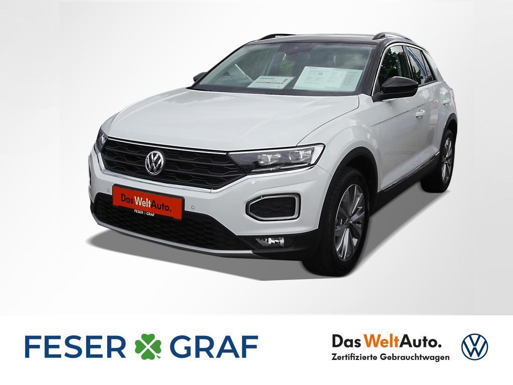Volkswagen T-Roc Style 1.0 TSI Navi LED ActiveInfo PDC ACC, Jahr 2018, Benzin