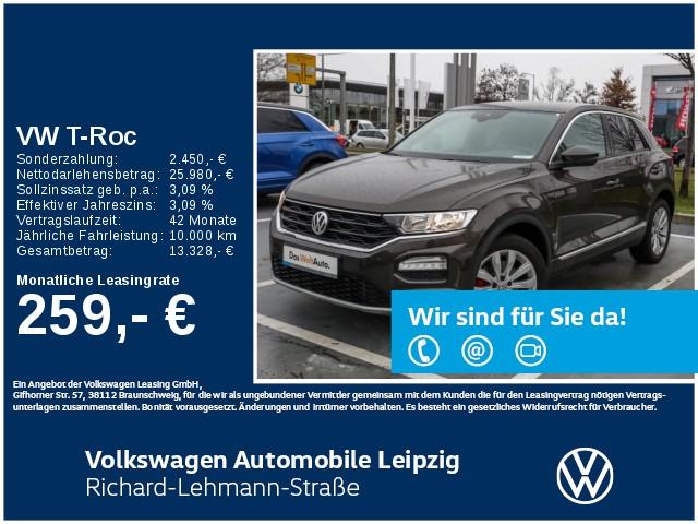 Volkswagen T-Roc Sport 2.0 TDI DSG Euro 6d-TEMP, Jahr 2019, Diesel