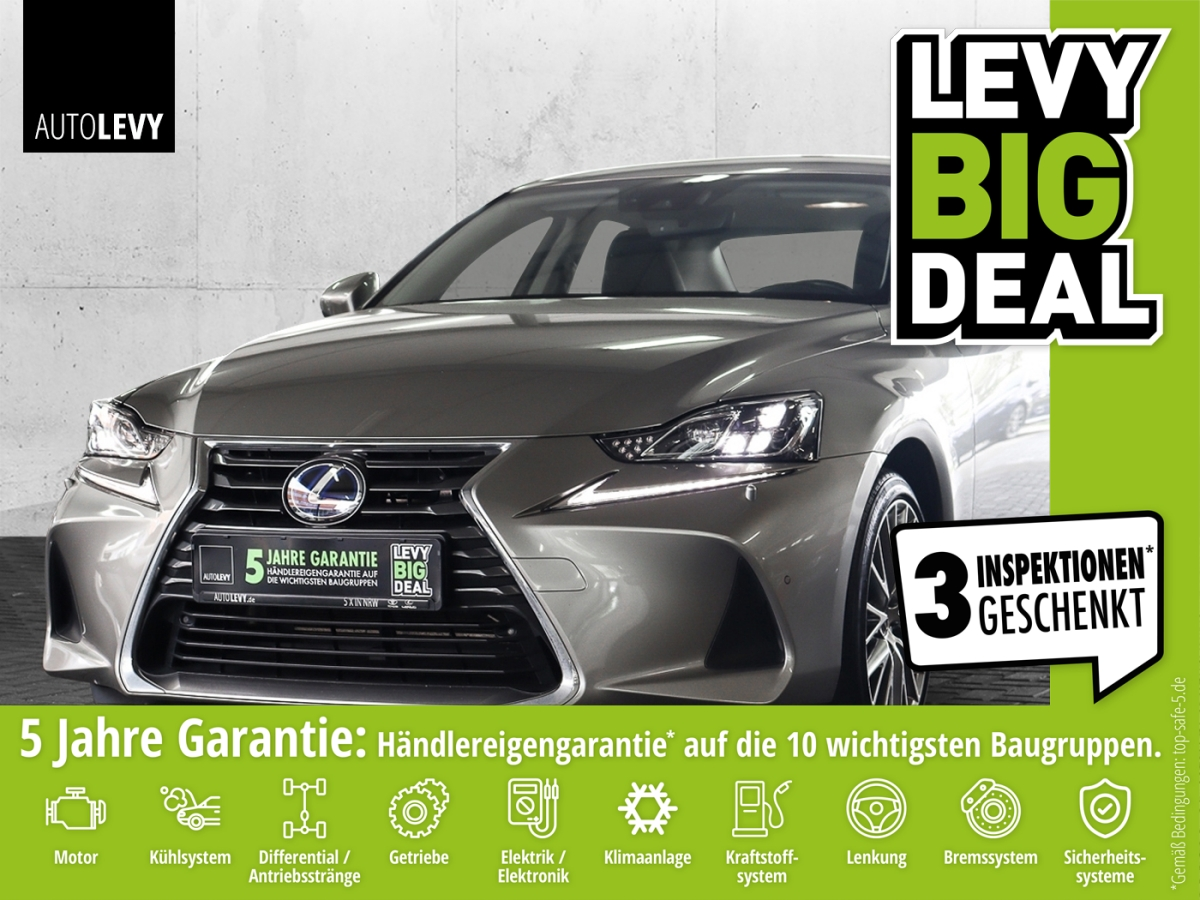 Lexus IS 300h Luxury Line *Mark-Levinson*, Jahr 2018, Hybrid