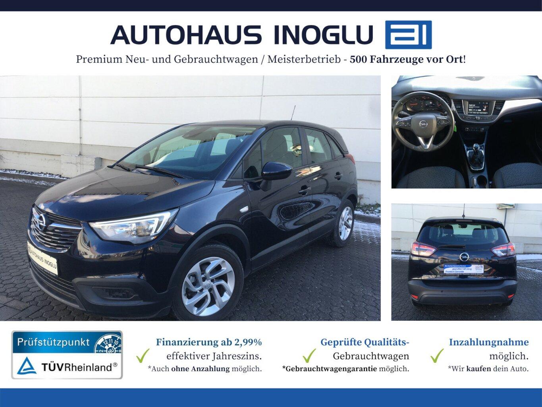 Opel Crossland X 1.2 LED-PDC-INTELLI-ALU-FRONTCAM, Jahr 2019, Benzin