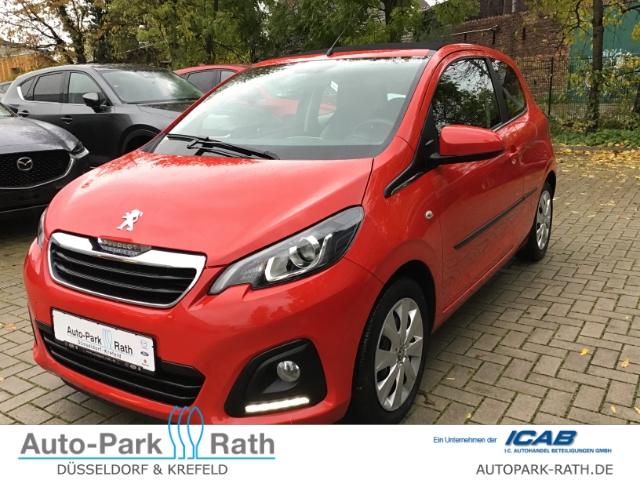 Peugeot 108 1.2 VTi PureTech*Faltdach*Freisprecheinrichtung*, Jahr 2016, Benzin