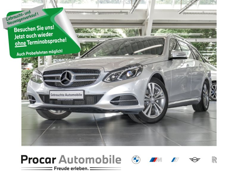 Mercedes-Benz E 200 7G-Tronic+Avantgarde+AHK+LED+Navi, Jahr 2015, Diesel
