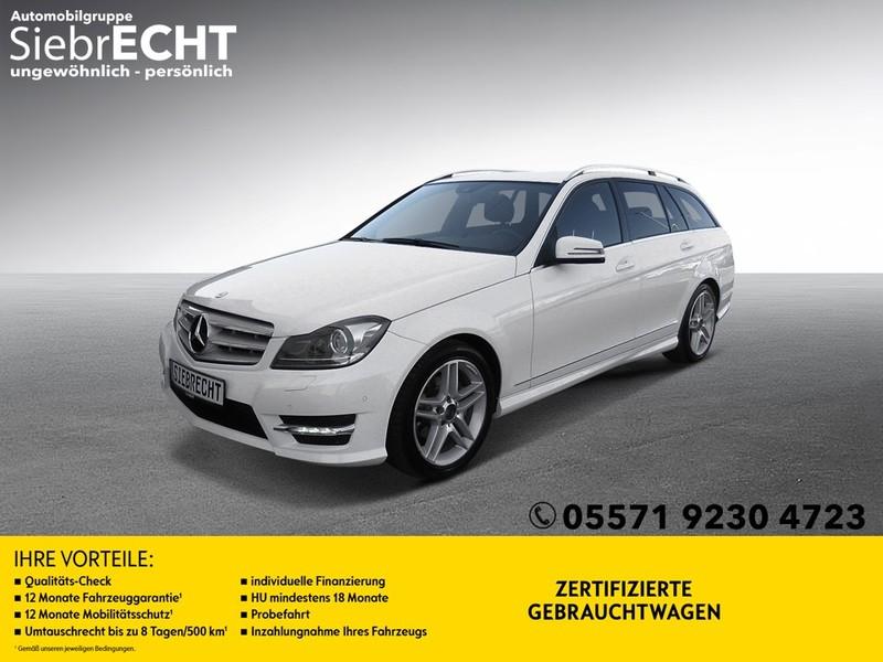 Mercedes-Benz C 180 CGI AMG-Line *XENON*NAVI*PDC*, Jahr 2013, Benzin