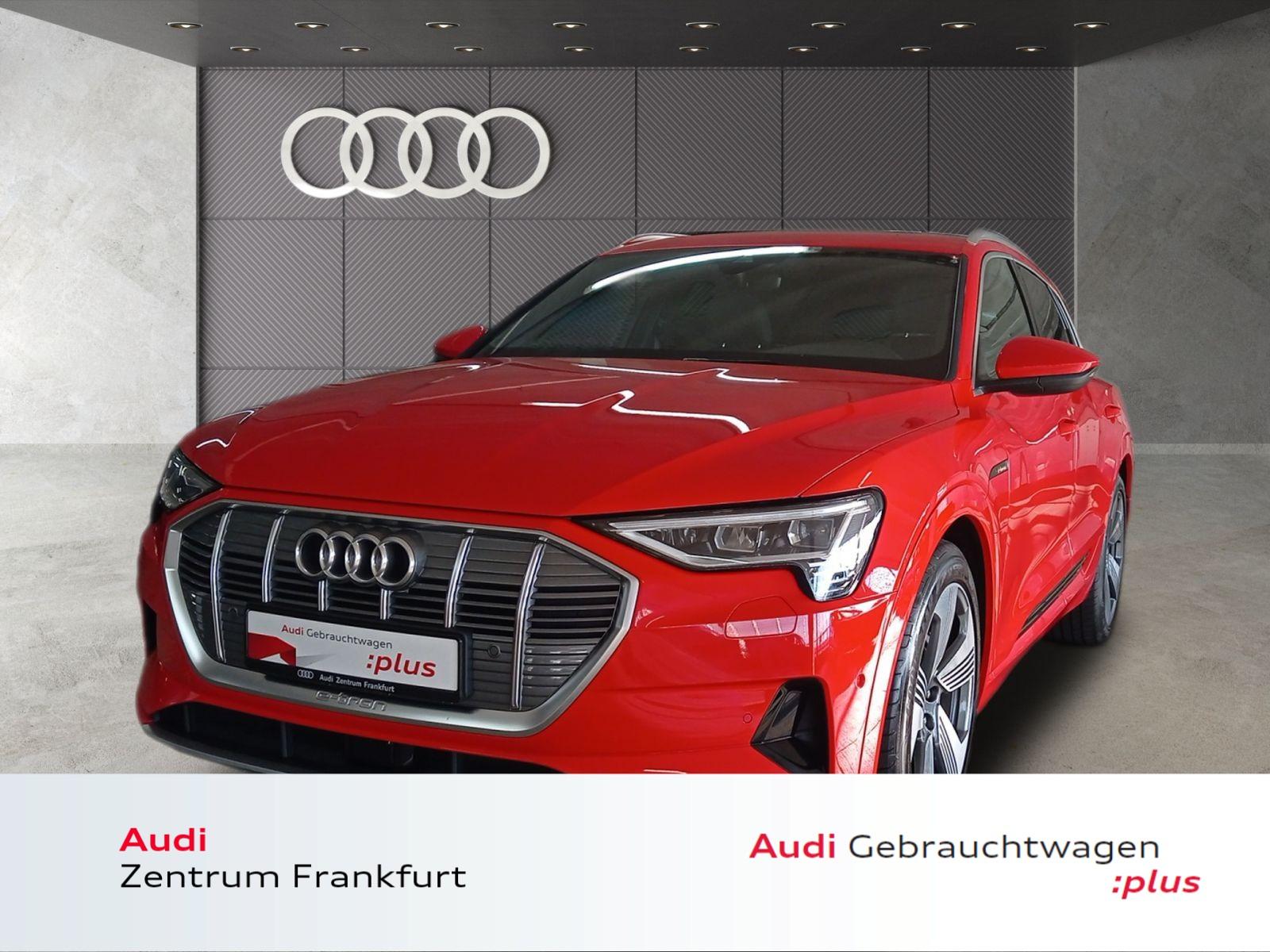 Audi e-tron 55 quattro advanced LED Navi Panorama VC, Jahr 2019, Elektro