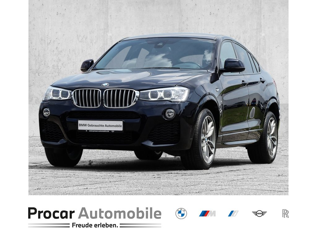 BMW X4 xDrive35d M Sportpaket+Head-Up+Navi+Xenon+WLAN+19 LMR, Jahr 2017, Diesel
