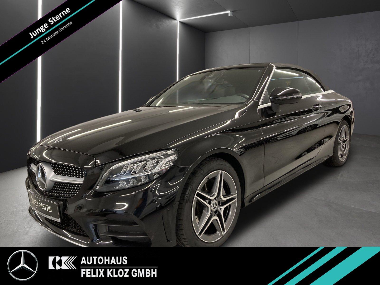 Mercedes-Benz C 180 AMG*Navi*LED*Kamera*Cabrio-Komfort*Totwink, Jahr 2020, Benzin