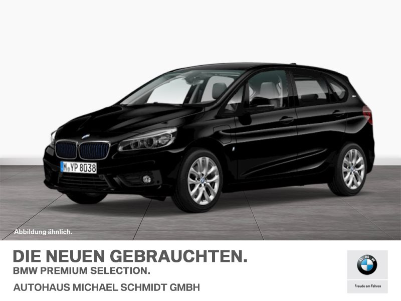 BMW 225xe iPerformance AT +LED+NAVI+PDC+TEMPOMAT+PARKASSIST.+SITZHZG., Jahr 2016, hybrid
