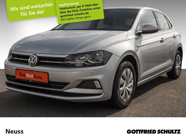 Volkswagen Polo VI 1,0 COMP COL 2KLIMA SHZ PDCvo&hi Comfortline, Jahr 2018, Benzin