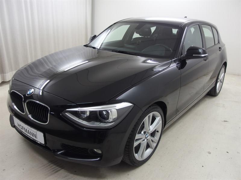 BMW 125i 5-Türer+18LMR+Komfortzugang+Navi+Adp.Xenon, Jahr 2012, petrol