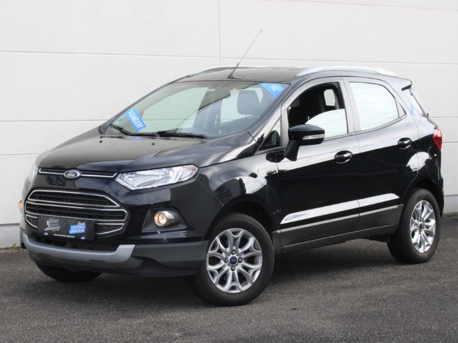 Ford EcoSport 1.0 EB Titanium Klima CD LM-Felgen, Jahr 2015, Benzin