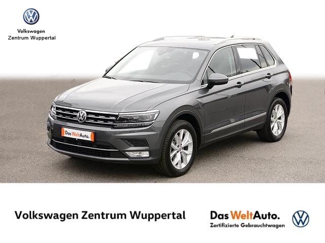 Volkswagen Tiguan 2,0 TDI Highline 4M DSG NAVI LED STANDHZG, Jahr 2017, Diesel