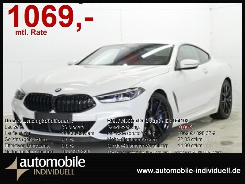 BMW M850i xDr Coupé ACC B&W LiveCockpit DAB Laser, Jahr 2020, Benzin