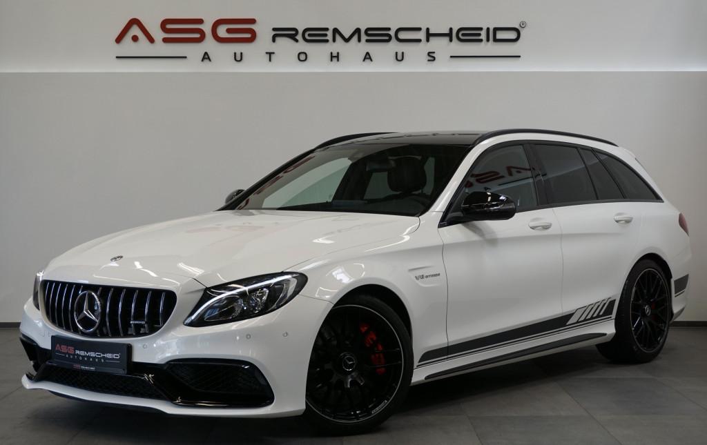 Mercedes-Benz C 63 AMG S T *Sport-AbGas *Night *KeyGO *Comand*, Jahr 2017, Benzin