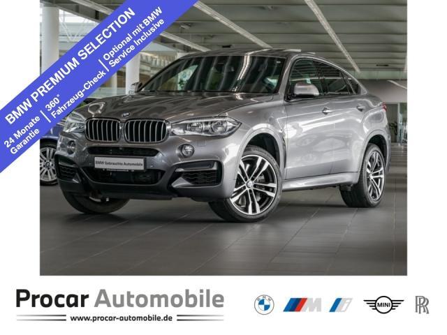 BMW X6 M50d Head-Up LED DA+ H/K Soft-Close Standhzg., Jahr 2017, Diesel