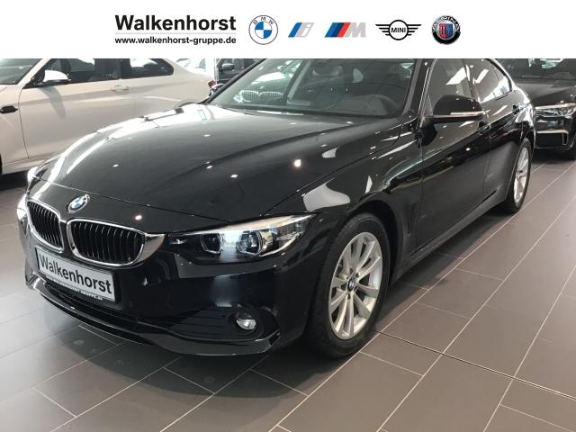 BMW 420 Gran Coupe i Advantage EU6d-T Navi RFK HiFi Glasdach 17'' Leder LED Keyless e-Sitze, Jahr 2020, Benzin