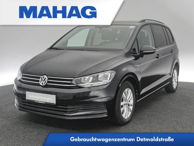 Volkswagen Touran 1.4 TSI Comfortline 7-Sitzer Leder AppConnect Sitzhz. ParkPilot FrontAssist 16Zoll 6-Gang, Jahr 2017, Benzin