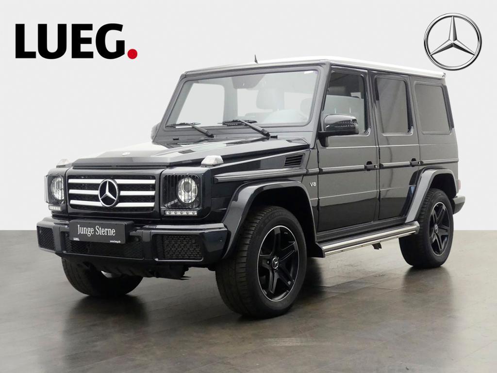 Mercedes-Benz G 500 SHD Standhzg Xenon Kamera Designo+Harman, Jahr 2018, Benzin