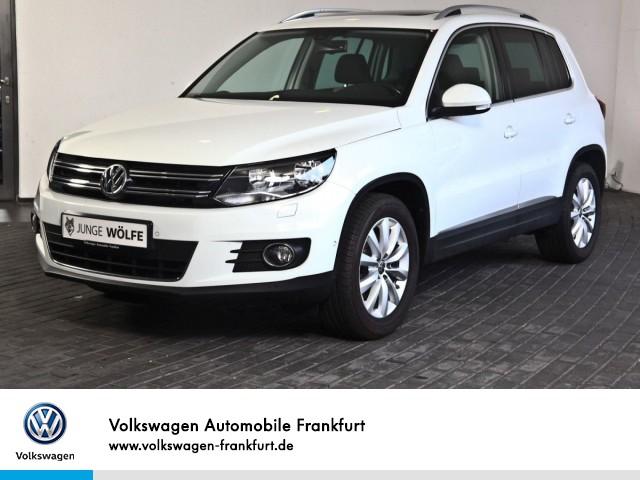Volkswagen Tiguan 1.4 TSI Sport & Style Navi Standheizung Panoramadach Tiguan 1.4BMTSPORTFR110 TSIM6F, Jahr 2015, Benzin