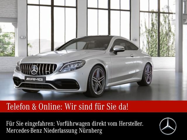 Mercedes-Benz C 63 S Coupé Sportpaket Head Up Display Navi LED, Jahr 2021, Benzin