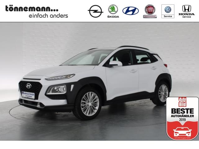 Hyundai Kona Trend, Parkpilot, Sitzheizung, Klimaanlage, Navi mit Rückfahrkamera, Jahr 2018, petrol