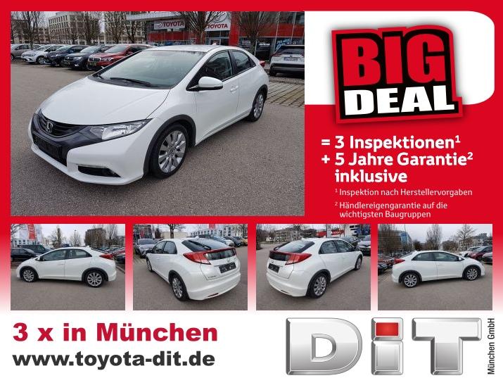 Honda Civic Lim.5 2.2 i-DTEC Sp *Big Deal+5J-Garantie, Jahr 2012, Diesel