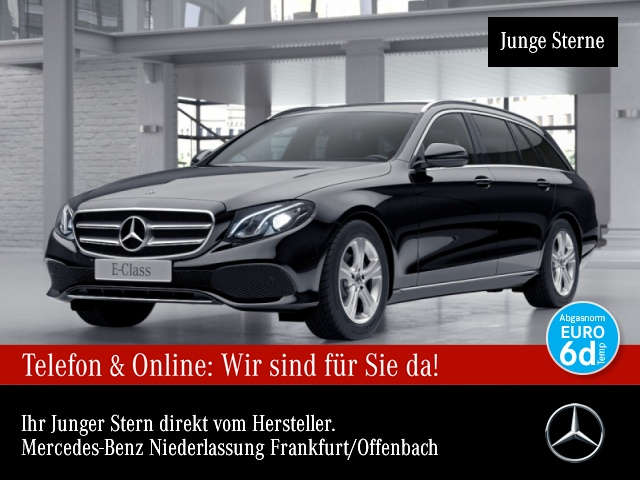 Mercedes-Benz E 220 d T Avantgarde LED AHK Kamera Spurhalt-Ass, Jahr 2018, Diesel