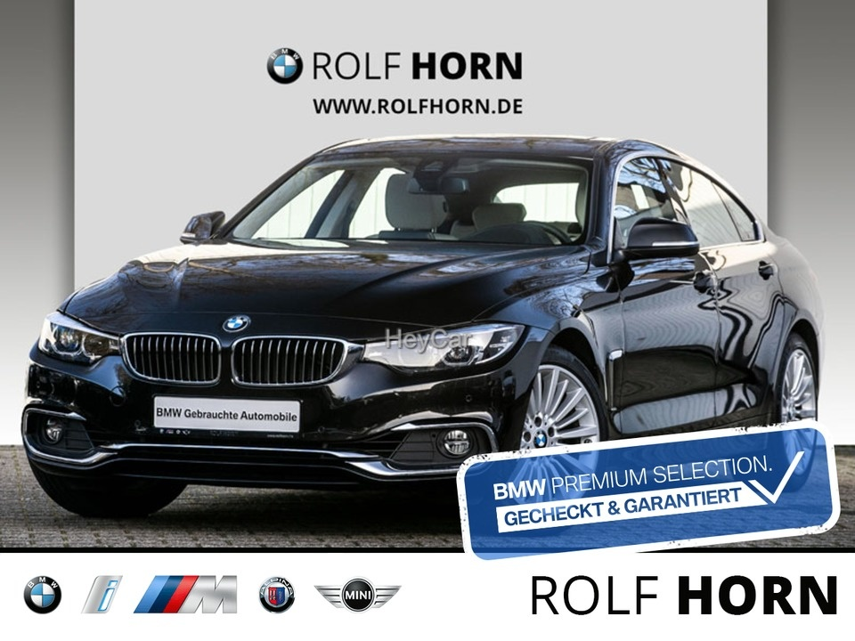 BMW 420 Gran Coupe Luxury Line Aut. Navi HUD Glasda, Jahr 2018, Benzin