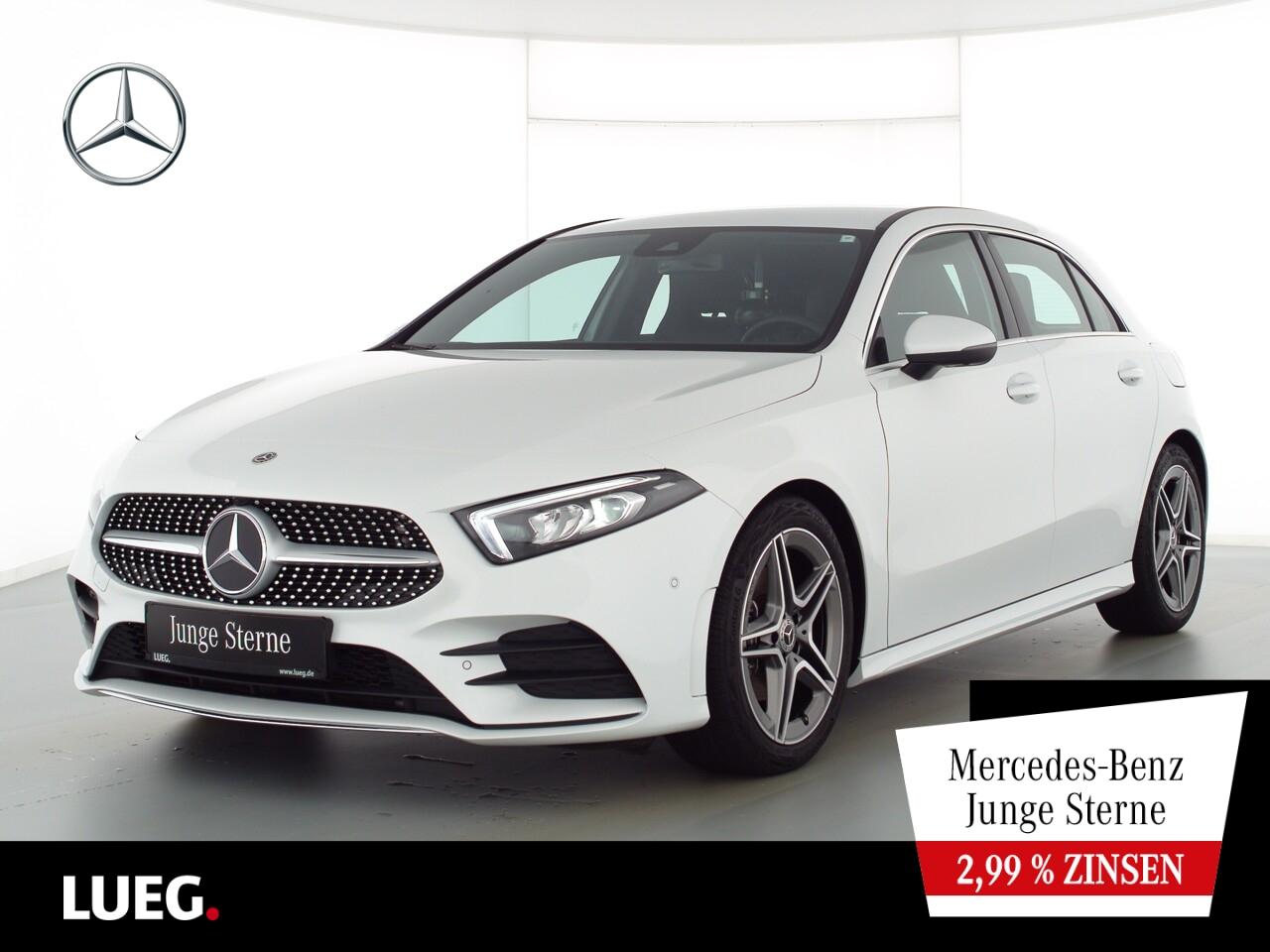 Mercedes-Benz A 200 AMG+MBUX+NavPrm+LED-HP+Totw+ParkAssis+360, Jahr 2020, Benzin