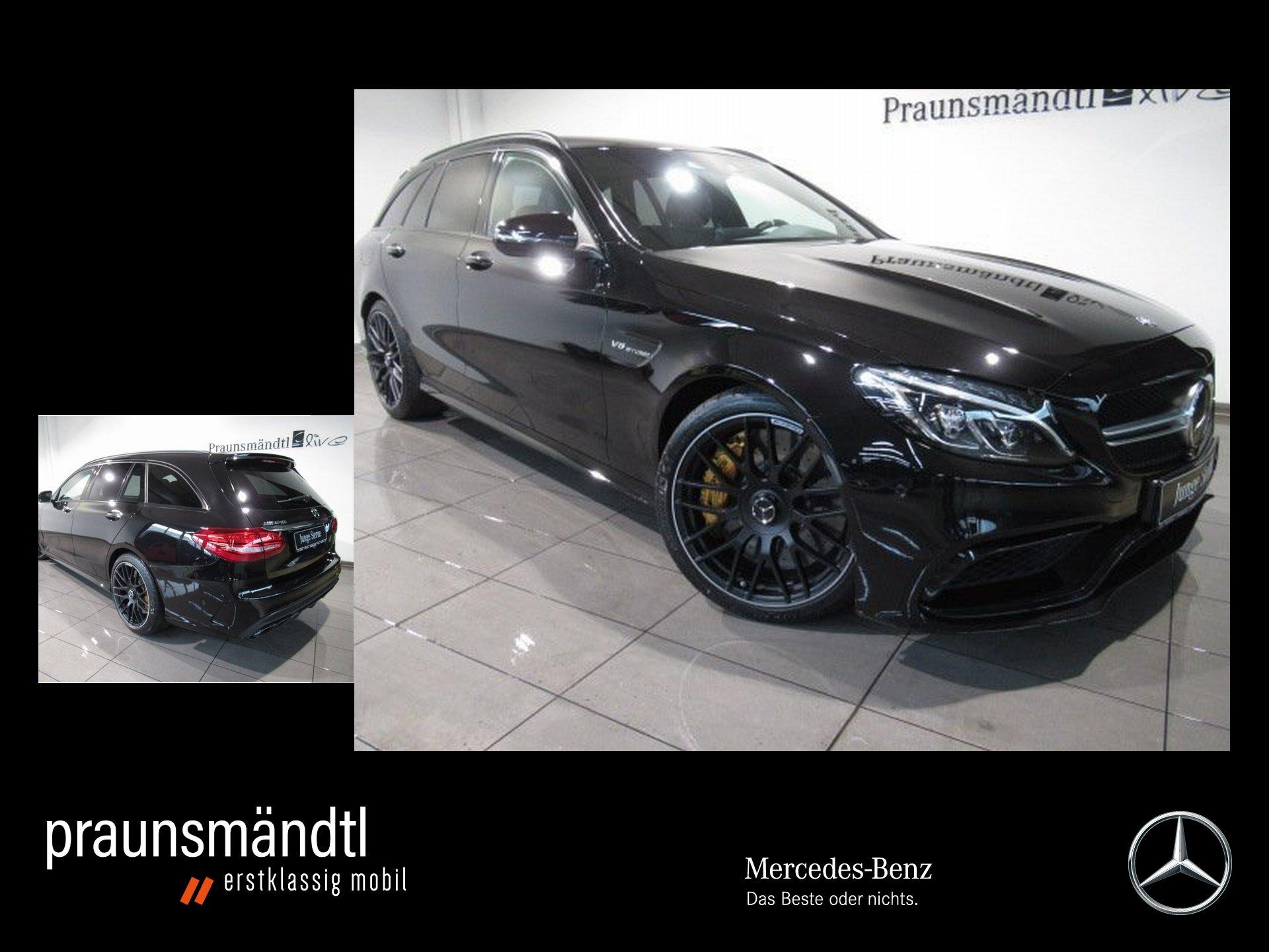 Mercedes-Benz C 63 S T AMG Drivers/Com/Keramik/Burmester/Distr, Jahr 2016, Benzin