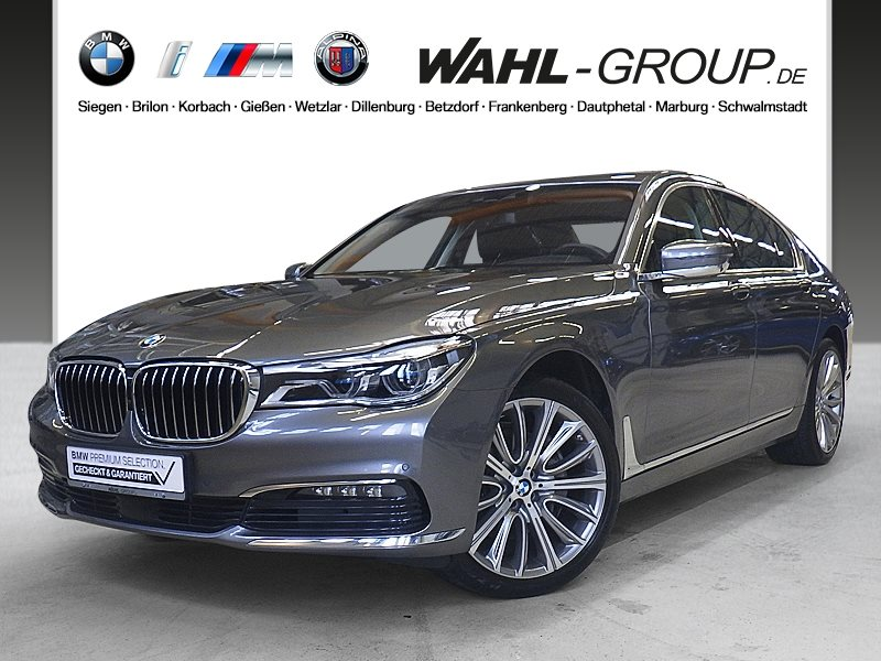 BMW 730d xDrive GSD Touch Command Head-Up DAB, Jahr 2015, diesel