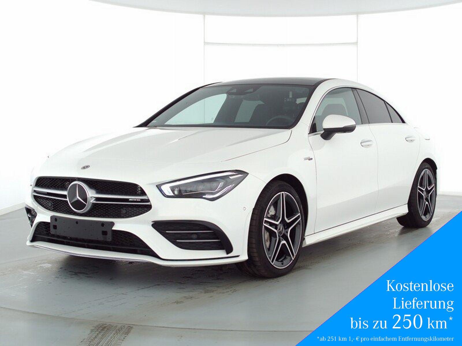 Mercedes-Benz CLA 35 AMG 4M+Pano+AHK+StandHz+360°+Distronic, Jahr 2020, Benzin