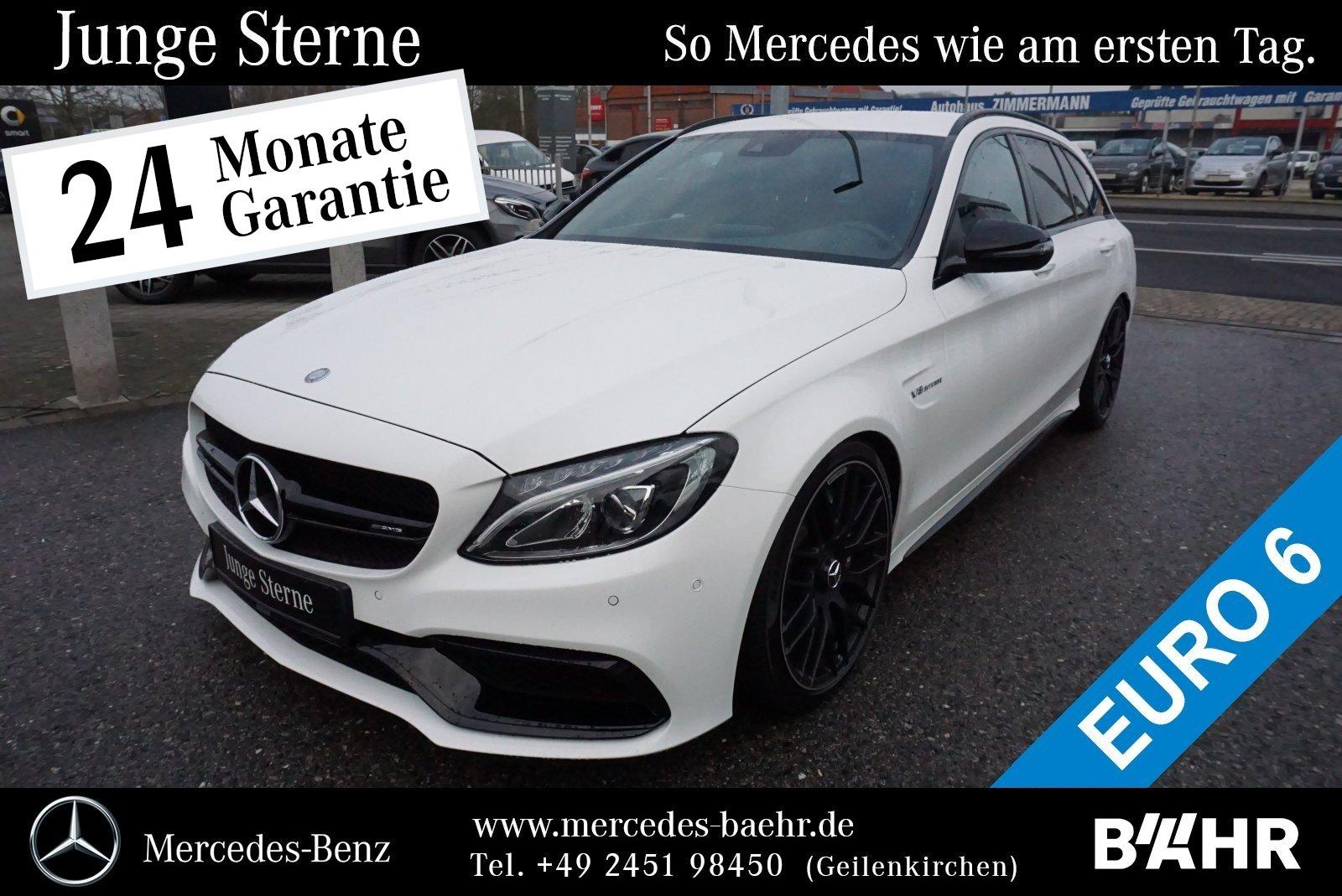 "Mercedes-Benz C 63 AMG T Night/Comand/LED-High/Park/SHZ/LM-19"", Jahr 2016, petrol"