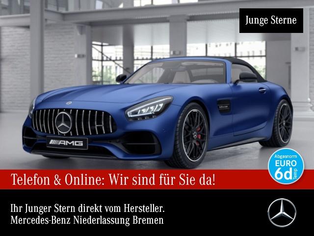 Mercedes-Benz AMG GT C Navi LED Vollleder Klima Einparkhilfe, Jahr 2020, Benzin
