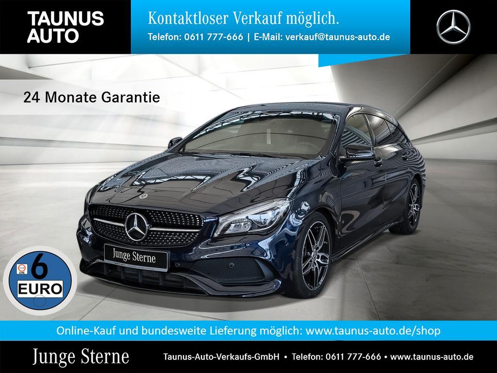 Mercedes-Benz CLA 200 Shooting Brake SB AMG-LINE NAVI NIGHT BU, Jahr 2017, Benzin